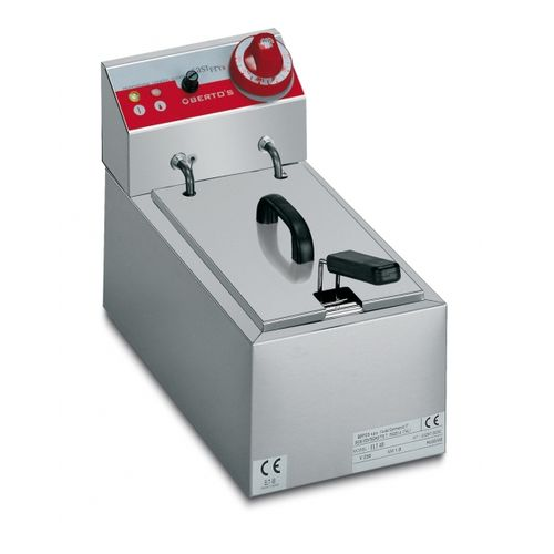 Friggitrice elettrica 1 vasca 2.5lt da banco Mod. snack