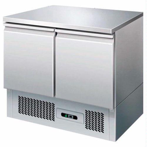 Saladette refrigerata statica 2 porte con piani in acciaio