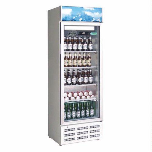 Armadio refrigerato per bibite 1 porta in vetro